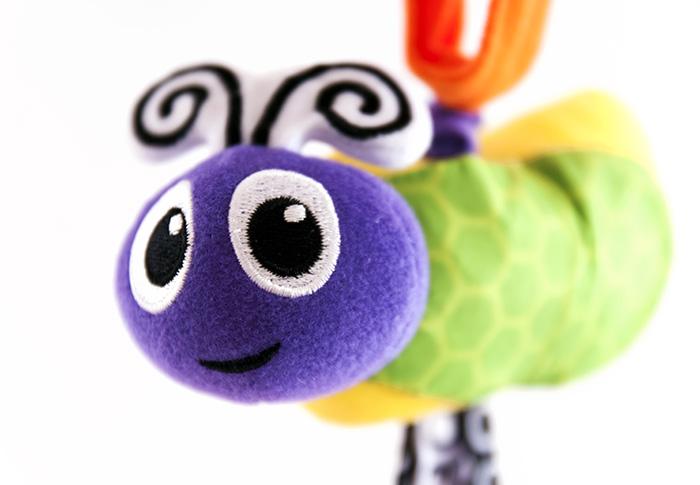 Šitá hračka kocourek pro miminka