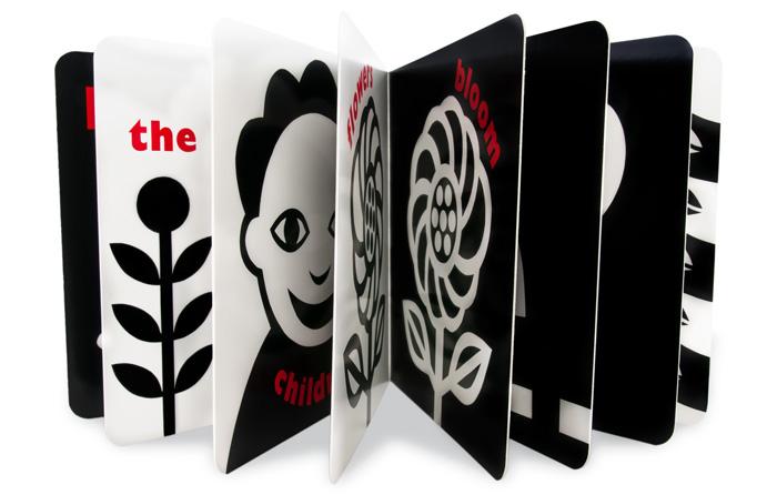černobílé obrázky pro miminka
