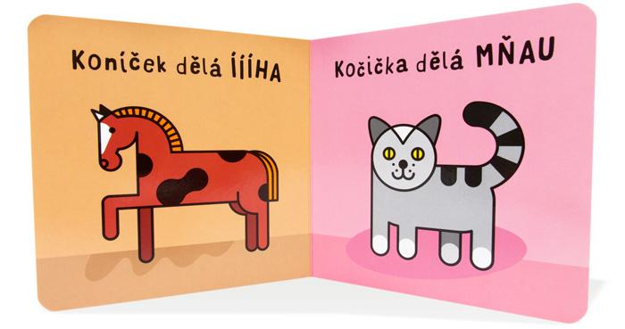 edukativní kniha pro miminka